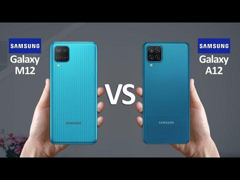 Samsung Galaxy M12 Vs Samsung Galaxy A12