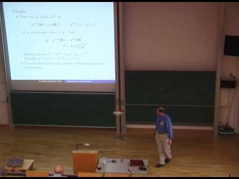 Algebraic Quantum Field Theory | Talk by Chris J. Fewster