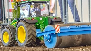 RC MONSTERS! Real working R/C tractors in LARGE 1/8 scale in ACTION!