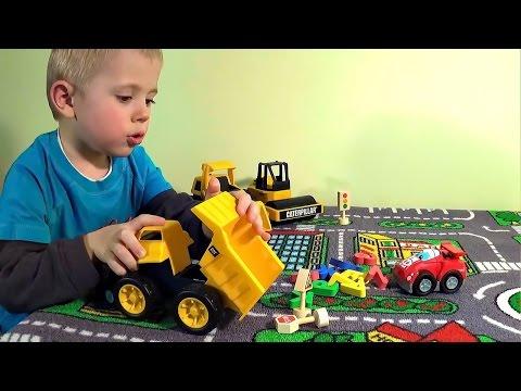 Lego пожарные и малыш Даник - Развивающее видео