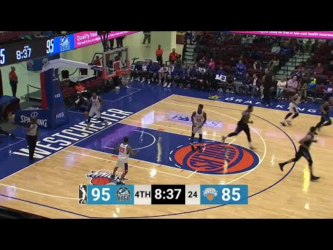 Xavier Gibson Posts 18 points & 10 rebounds vs. Westchester Knicks