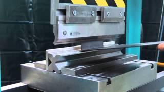"Hydraulic press MECAMAQ ""DE series"" 100tons + BENDING TOOL"