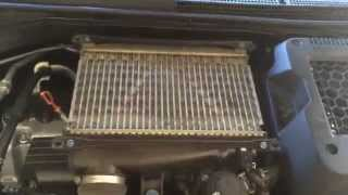 Acura RDX Turbo Intercooler Cleaning