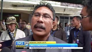 KRI Dokter Soeharso Tiba di Timor Leste Untuk Misi Kemanusiaan - IMS
