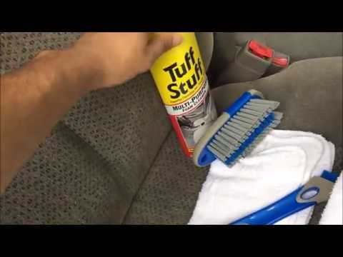 HOW TO CLEAN YOUR CAR SEATS & CARPETS!