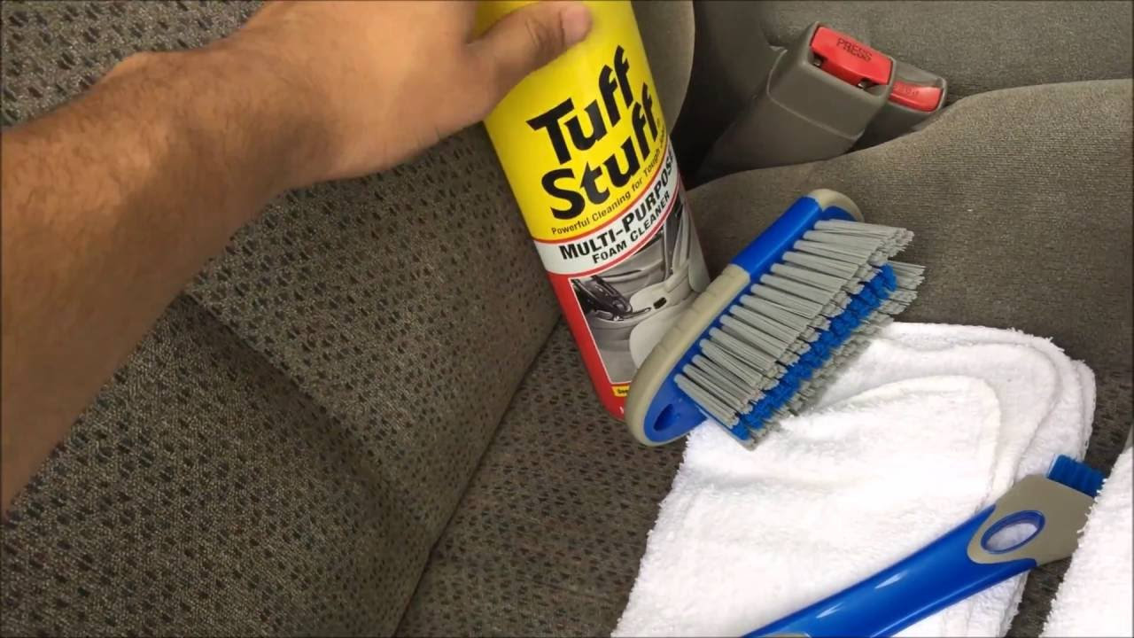 HOW TO CLEAN YOUR CAR SEATS & CARPETS! - YouTube