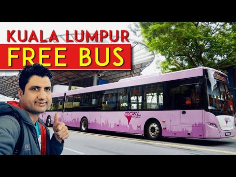 Free Bus & Transport in Kuala Lumpur Malaysia