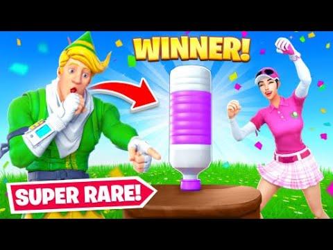 Ultimate Fortnite Bottle Flipping ($100 Prize)