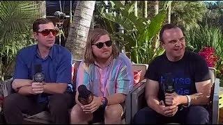 Future Islands Interview - VR180 - Coachella 2017