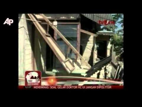 Raw Video: Indonesia Earthquake Damage