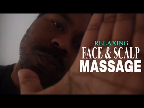 Massage Therapist Role Play ASMR | Relaxing Face and Scalp Massage | Hand Sounds & Hand Movements