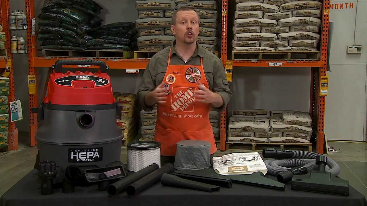 Ridgid HEPA Wet Dry Vac for Pros The Home Depot