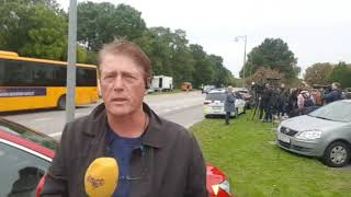 Här flyr Peter Madsen från fängelset - Expressens reporter på plats