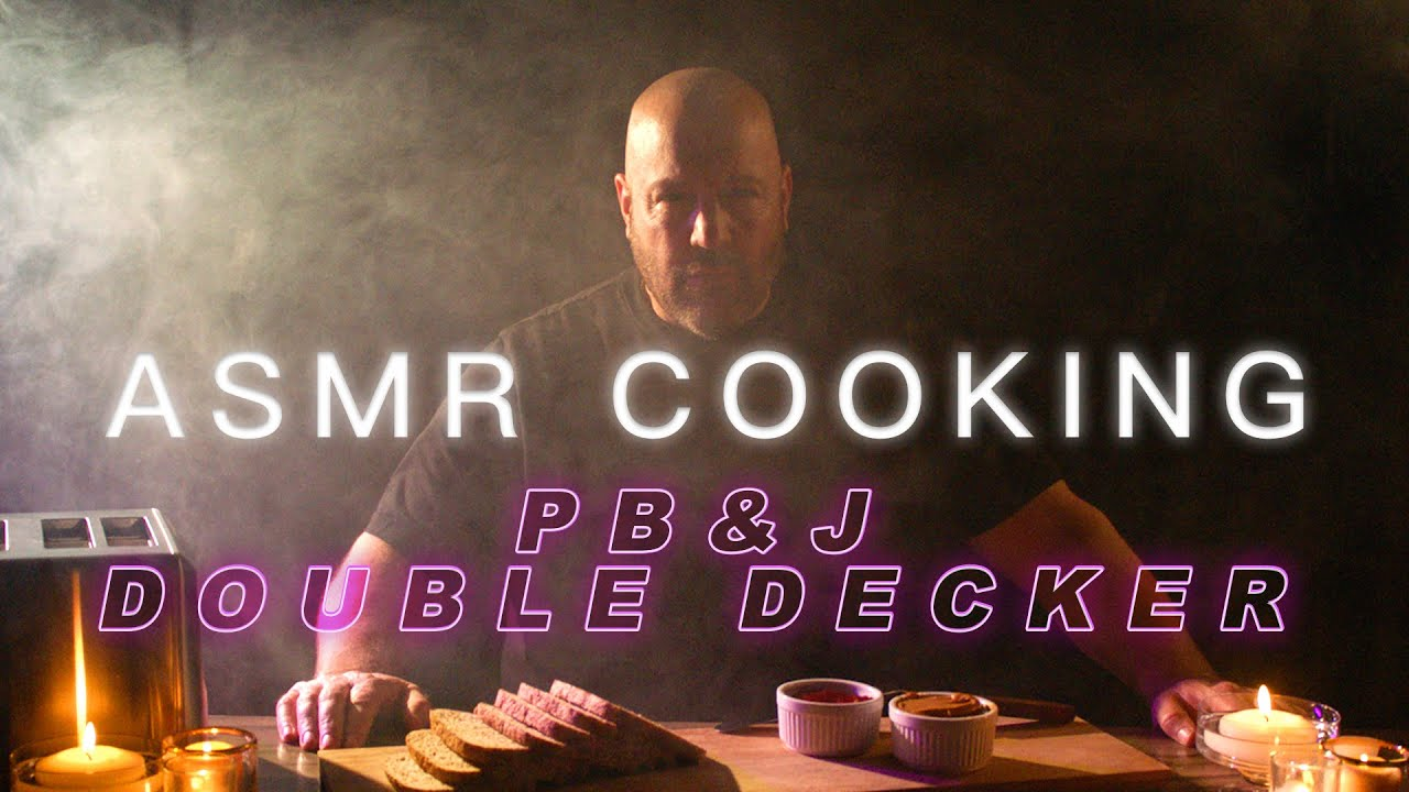 ASMR Cooking - PB&J Double Decker | Kevin James