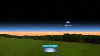 Close Mars, Lunar Eclipse And Lyrid Meteors - April 2014 Skywatching Video