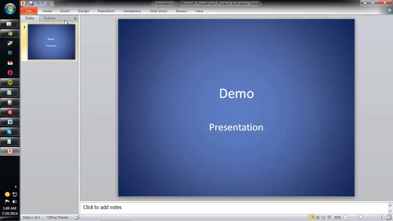 how to get more powerpoint themes