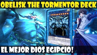 OBELISK THE TORMENTOR/OBELISCO EL ATORMENTADOR DECK | ¡NO ES UN MONSTRUO! ¡ES UN DIOS! - DUEL LINKS
