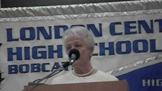 LCHS Closing Ceremony - Ms Polly DeYoung