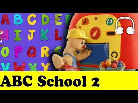 ABC School 2 | Play To Clay with James (PLAY DOH CLASS) - Muffin Songs