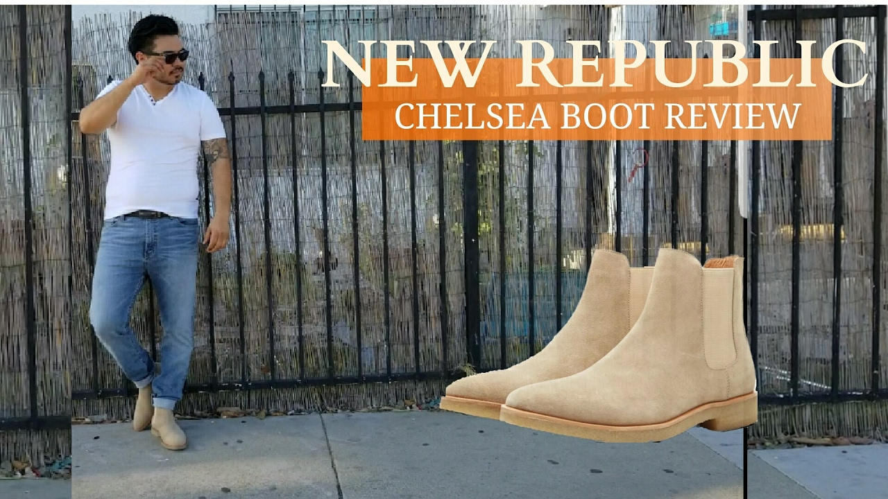 New Republic-Chelsea Boot Review - YouTube