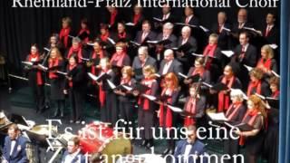 Es ist für uns eine Zeit angekommen - Swiss Christmas Carol (Rheinland-Pfalz International Choir)