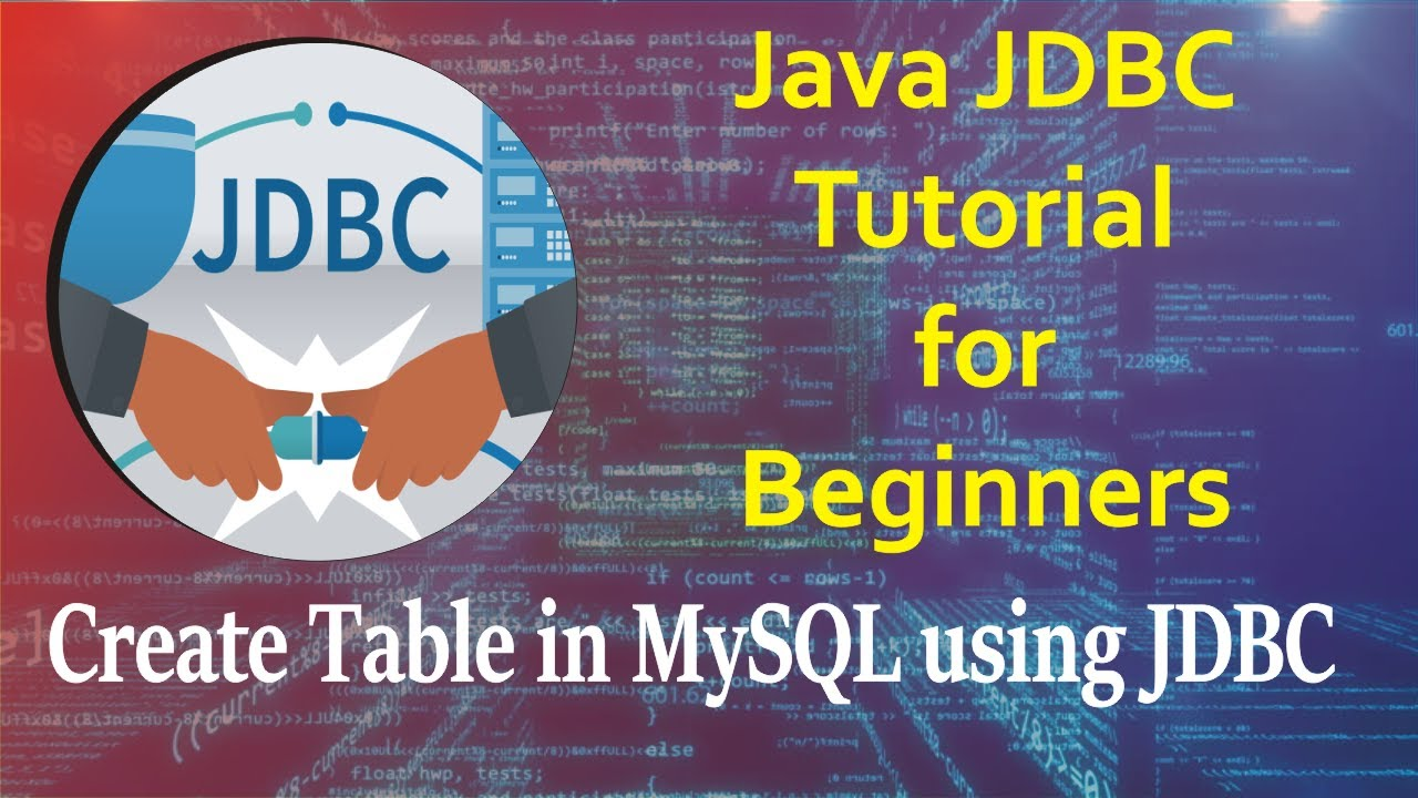 how to create table in mysql