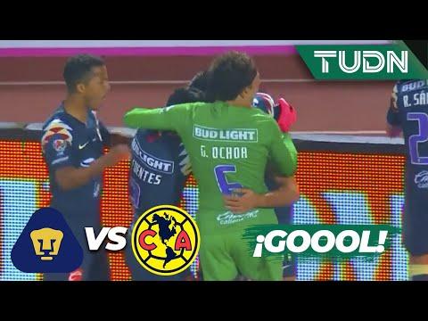 ¡De último minuto! ¡Gol de Henry! | Pumas 3 - 2 América | Liga Mx Clausura 2020 - Jornada 9 | TUDN