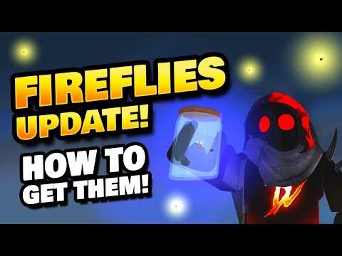 Fireflies Update in Roblox Islands - How to Get Fireflies and Net