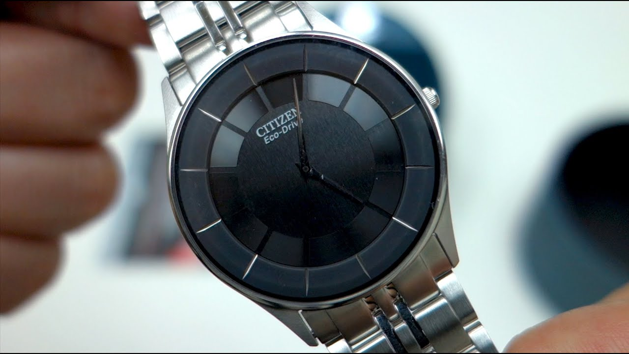 e6ad40917ee Citizen Men Eco Drive Stiletto Ultra Slim AR3010 65E unboxing - YouTube