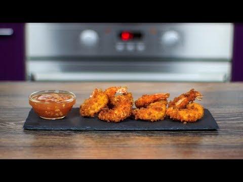 КРЕВЕТКИ в ХРУСТЯЩЕМ кляре | Как приготовить креветки во фритюре | Panko Fried Shrimps Recipe
