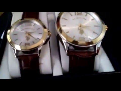 e9d96469206 Relógios US. POLO ASSN. Detalhes em Ouro 18k - YouTube
