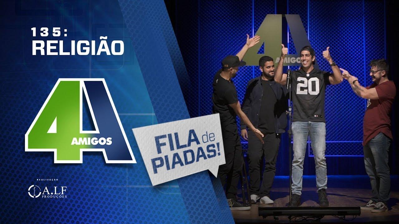 FILA DE PIADAS - RELIGIÃO - #135 Participação Jonathan Nemer