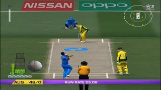 EA CRICKET 18 PC Gameplay - India Vs Australia - 5 Overs Match Part 2