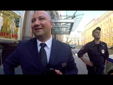 """СтопХам-""""Серьезные"""" ребята у отеля АРАРАТ 2"""