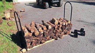 What is Adjustable Firewood Log Rack?