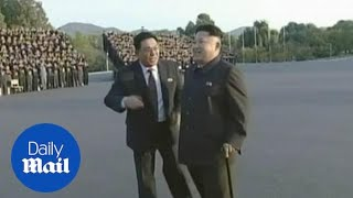Kim Jong-un seen limping and using a walking stick