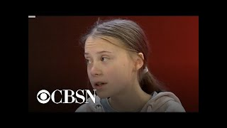 """Climate activist Greta Thunberg: """"Pretty much nothing has been done"""""""