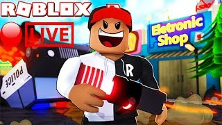 Roblox Mad City: NEW DEATH RAY GUN UPDATE + EASTER EGG AND OTHER GAMES (livestream)