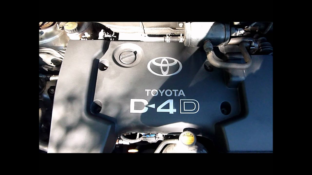 2007 TOYOTA COROLLA VERSO 2.0 D4D ENGINE - 1CD-FTV