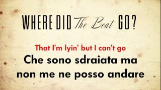 P!nk - Where Did The Beat Go? (testo e traduzione)