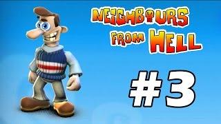 Neighbours From Hell - PC Walkthrough Gameplay Part 3 (în română)