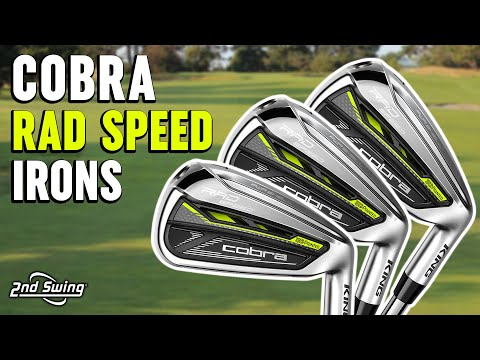 Cobra RAD Speed Irons Review | Trackman Testing & Feedback