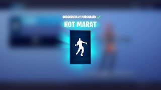 FREE HOT MARAT EMOTE IN FORTNITE || Disney Wreck-It Ralph Emote Exclusive!