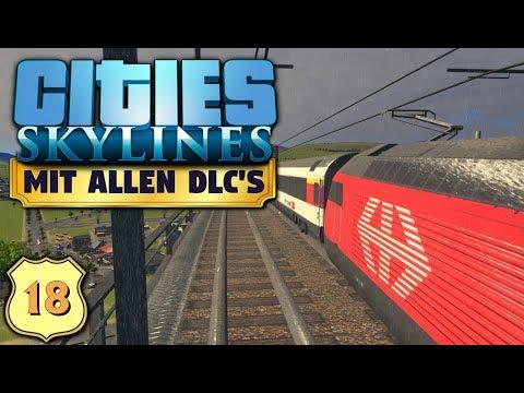 Cities Skylines S6/#18: Die ersten Züge sind unterwegs [Let's Play][Gameplay][German][Deutsch]