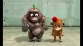 Osuruk Karikatür Maymun
