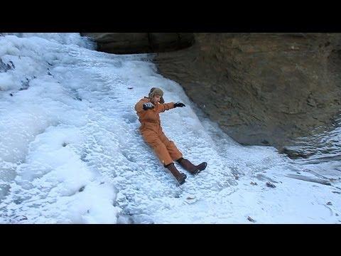 Frozen on Ice Wheeling Adventure