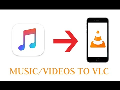 How to transfer music/videos from computer to iPhone VLC Player App 2017