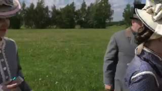 На съемках фильма Анна Каренина К Шахназарова. 5.06.16 Актеры массовых сцен:)
