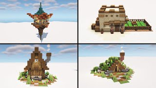 Top 4+ Simple Small House in Minecraft - Easy to Build