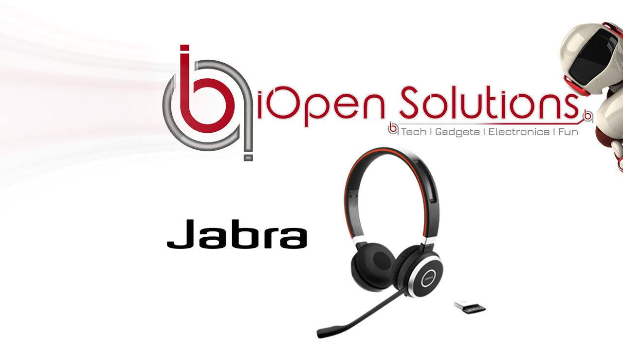 Jabra 65 Evolve Headset Unboxing Review Youtube